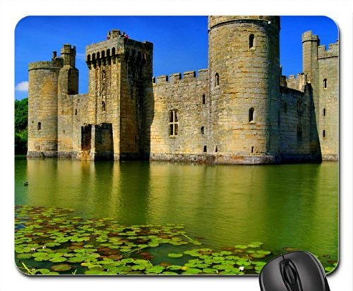 BODIAM CASTLE Mouse Pad, Mousepad (Medieval Mouse Pad) -