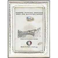 S.MARCO Portafoto Cornice Ritratto Argento Artigianale Italy fatto a Mano Foto ca.10x15cm