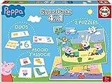 Educa Borrás Peppa Pig - Superpack con Juegos de Mesa 16229