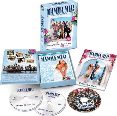 Mamma Mia! Gift Set (2 Dvd+Cd+Booklet) [Edizione: Regno Unito]