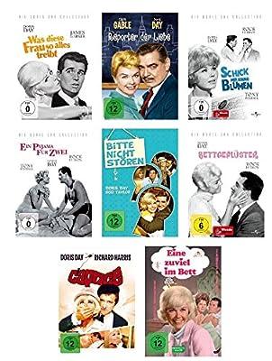 Doris Day DVD Box Collection - Acht ihrer beliebten Filme