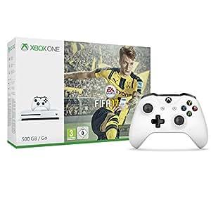 Pack Console Xbox One S 500 Go + Fifa 17 + Deuxième manette