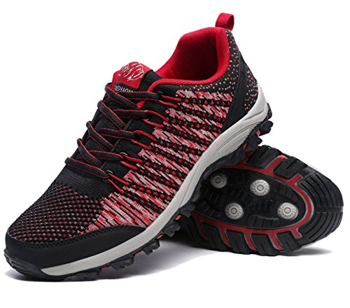 Low Aide Respirant Chaussures D'escalade De Camping En Plein Air Multicolore Multi-taille Red