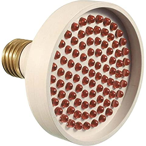 S + H LED de señal bombilla 83x 100mm Socket E2724–28V 3,5W Rojo con 60LED