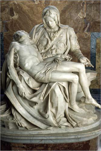 Poster 40 x 60 cm: Piéta von Michelangelo von James L. Stanfield/National Geographic - hochwertiger Kunstdruck, neues Kunstposter -