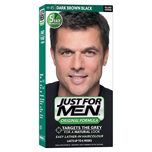 Just For Men - H45 - Hair Colour Original Formula - Dark Brown Black