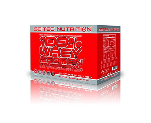 Scitec Nutrition 100% Whey Protein Professional 30 x 30 g mix (900g Box) * 3 NEW Flavours