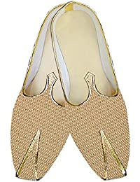 Mens Bisque Jute Wedding Shoes Partywear MJ014708
