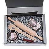 Geschenkset Hochzeit 'Just Married' Präsentkorb Hochzeitsgeschenk Schachtel Geschenkbox Korb Box