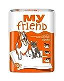 My Friend Unterlagen für Tiere, 5er Pack (5 x 10 Stück), Hunde, Katzen