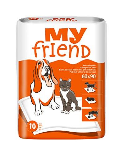 My Friend Unterlagen für Tiere, 5er Pack (5 x 10 Stück)