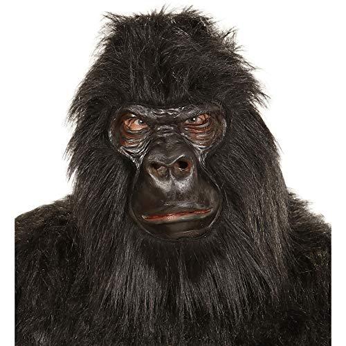 e Gorilla aus Schaumlatex und Plüsch ()