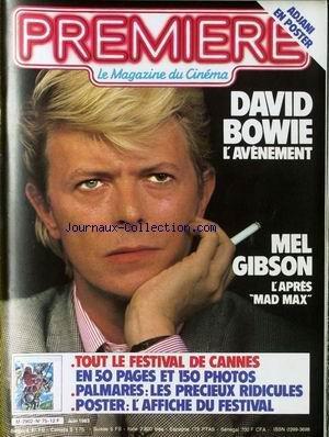 PREMIERE [No 75] du 01/06/1983 - DAVID BOWIE - MEL