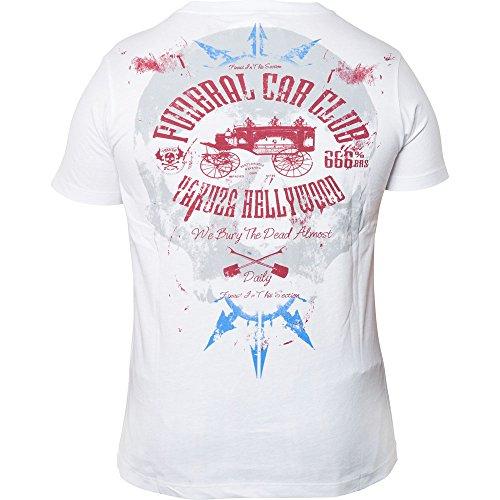 Yakuza T-Shirt TSB-212 Weiß Weiß