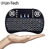 Ergode i8 Portable Handheld Touchpad Mouse and Multi-Media Backlight Smart Keyboard with 360-degree Flip (14.6 X 9.75 X 1.9 cm)