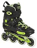 Playlife Inline Skates Legion schwarz/grün Größe 40