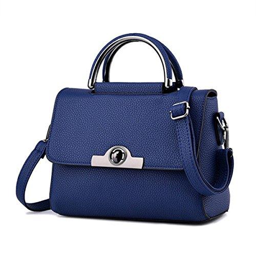 Mode Damenhandtaschen Damen Wasserdichte Umhängetasche Tragetaschen Blue2