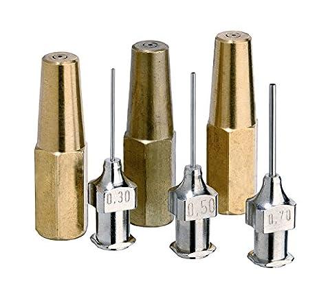 Rothenberger Industrial–Micro Graveur et de la sueur Buses Assortiment–Set d'accessoires–35420