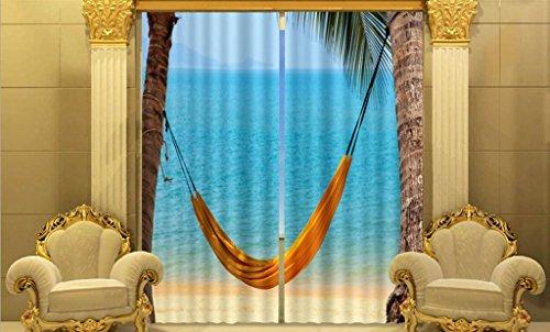 GYMNLJY Farfalla 3D poliestere mare vista spiaggia