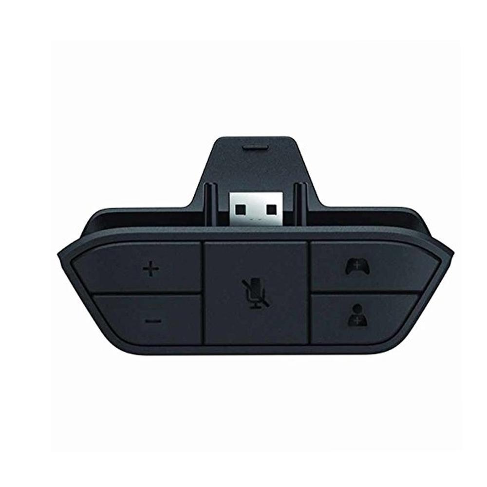 KOBWA Xbox One Adaptateur Casque Stéréo Convertisseur Casque Contrôleur de Jeu – Universal Audio Chat Adaptateur Casque Mic Supporte Toute Version De L'hôte Contrôleur