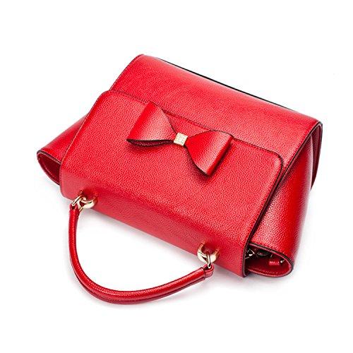Miyoopark, Borsa a secchiello donna Red