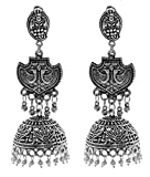 Long jhumki with traditonal attachment i...