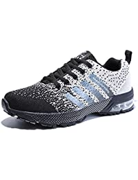 750bd8a432b Women Men Casual Sports Running Shoes Air Trainers Jogging Fitness Shock  Absorbing Gym Athletic…
