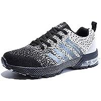 Homme Femme Chaussures de Sport Respirantes Plein Air Sneaker Running Shoes  pour Trail Entraînement Course Gym a1f509a4b33