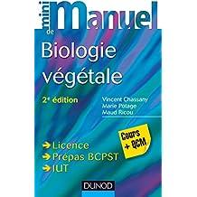 Mini Manuel de Biologie végétale - 2e éd. : Cours + QCM (Documents)