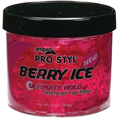 Ampro Styling Gel - Berry Ice 32 oz. (Pack of