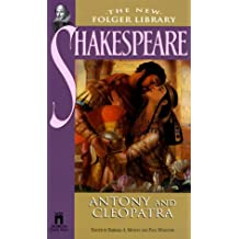 Antony and Cleopatra (New Folger Library Shakespeare) by William Shakespeare (1999-10-01)