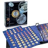 Münzalbum Münzen Sammelalbum - Euro Münzen aufbewahren - Dein Euromünzen Sammelalbum 1 Cent bis 2 Euro -SAFE 7817