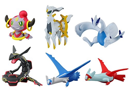 Takaratomy Pokemon X & Y The Movie: Hoopa & The Clash of Ages Special Figure Pack (6 Piece)