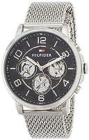 Reloj para hombre Tommy Hilfiger 1791292, mecanismo de cuarzo, diseño con varias esferas, correa de acero inoxidable.