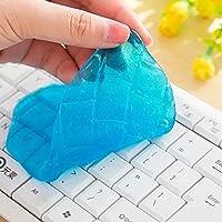 Valenth Keyboard argile magique Clear Transparent Clean Mud Argile Plastic Clean pour Car Interior Computer Keyboard Office Equipment