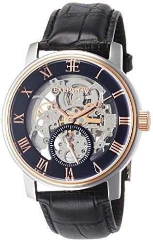 Thomas Earnshaw ES-8041-04 - Reloj para hombres, correa de cuero color negro