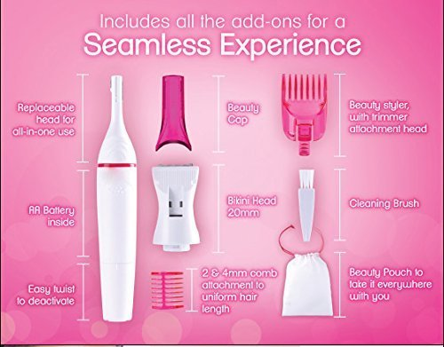 Sweet Sensitive Touch Electric Trimmer For Women  (Hair removal)