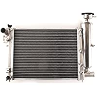 42mm High Flow Aluminium Twin Core Engine Cooling Race Radiator