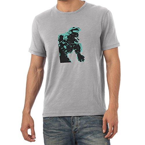 Texlab The Master - Herren T-Shirt, Größe XXL, Grau Meliert