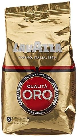 Lavazza Qualità Oro , 1er Pack (1 x 1 kg (Espresso Miscela Intero Bean)