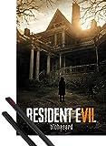 1art1® Póster + Soporte: Resident Evil Póster (91x61 cm) 7, Key Art Y 1 Lote De 2 Varillas Negras