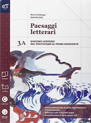Paesaggi letterari. Vol. 3A-3B. Con extrakit. Per le Scuole superiori. Con e-book. Con espansione online