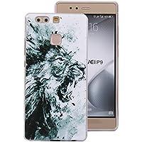 Cozy Hut Huawei P9 Handyhülle,Huawei P9 Silikon Hülle, 3D Handyhülle Muster Case Cover Für Huawei P9 Liquid Crystal Ultra Dünn Crystal Clear Transparent Handyhülle Soft Cover Premium Anti-S