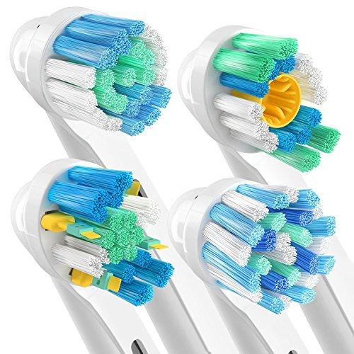 ORAX 16 pzs. Cabezales de cepillo dientes eléctrico Oral B  Surtido 4 psz. de todo tipo de recambio cepillo dientes