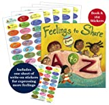 Feelings to Share from A to Z Book & Stickers