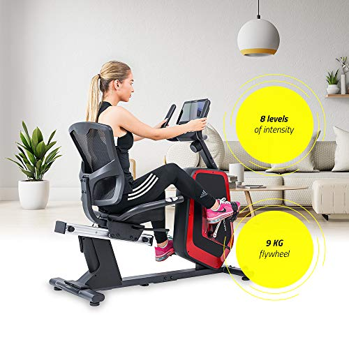 Zoom IMG-1 techfit r700 cyclette orizzontale recumbent