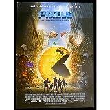 PIXELS Affiche de film 40x60-2015 - Adam Sandler, Chris Colombus