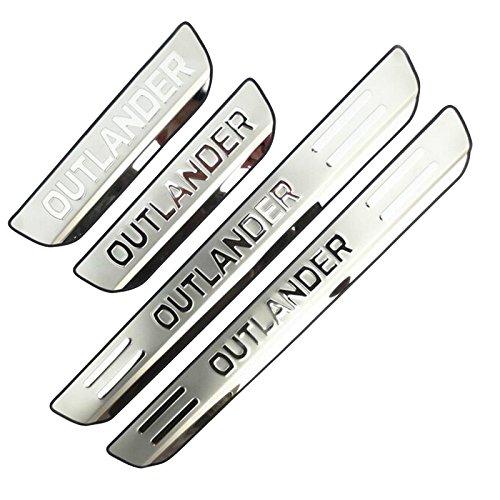HIGH FLYING für Outlander BJ. 2013-2019 Exterieur Einstiegsleisten Türschweller 4 Stück Edelstahl