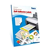 #7: Saco Self-Adhesive Label - 12 Label per Page(A4) - 100 Sheets