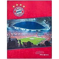 FC Bayern München Fleecedecke Allianz Arena 150x200cm
